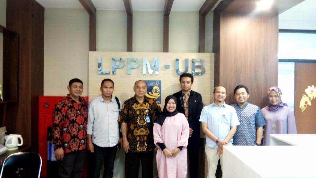 Audiensi dengan LPPM Universitas Brawijaya Malang