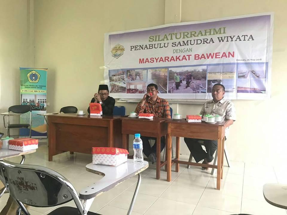 Silaturahim Yayasan Penabulu Samudra Wiyata dengan Masyarakat Bawean